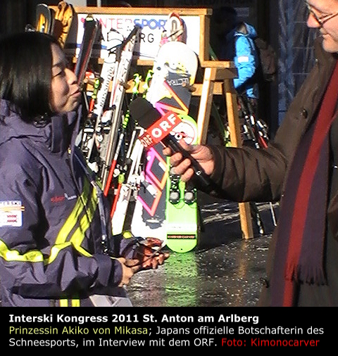 Foto vom Interski Kongress 2011